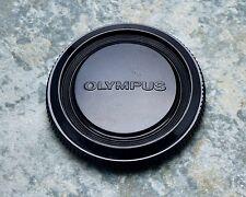 Genuine Olympus OM Black Camera Body Cap Zuiko OM-1 OM-2 OM-3 OM-4 OM-10 (#1405)