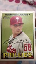 Baseball cards(Danny Salazar, Joaquin Benoit, David Robertson, Jeremy Hellickson