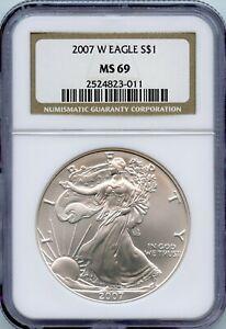 2007-W American Silver Eagle OGP *AE-113