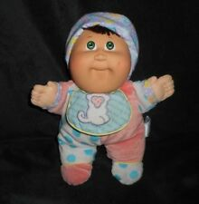 VINTAGE 1988 HASBRO BABYLAND CABBAGE PATCH DOLL SQUEAKS STUFFED ANIMAL PLUSH TOY