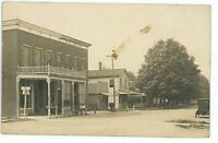 RPPC Main Street CANEADEA NY Vtg Allegany County New York Real Photo Postcard
