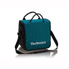 Technics Dj Record Bag Ruck Sack 50 vinyl Turquoise / White Logo