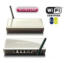 10 Stück Sitecom WL-600/579 WLAN Kit (USB Adapter + Router) 54 Mbit/s 802.11B/G