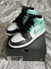 Nike Air Jordan 1 Mid Tropical Twist 36 Iglo Türkis Black Schwarz ✅