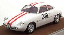 Tecnomodel Alfa Romeo Giulietta SZ chauinsland Freiburg 1962 Fishbaber #230 1/18