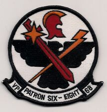 USN VP-68 BLACKHAWKS patch MARITIME PATROL SQUADRON