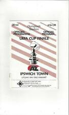 Away Teams F-K Ipswich Town Football European Club Fixtures