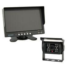 7 Zoll TFT Farb-Monitor & Farb-Kamera IP67 inkl. 20 Meter Anschlusskabel 12-24 V