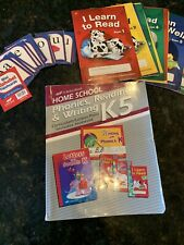 Abeka Kindergarten Homeschool Curriculum With 13 Readers ABC Cards