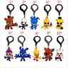 HOT FIVE NIGHTS AT FREDDY'S FNAF COLLECTOR'S CLIPS CHICA BONNIE FOXY PUPPET 8cm