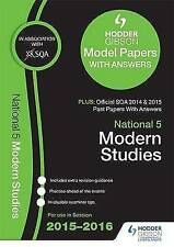 National 5 Modern Studies 2015/16 SQA Past and Hodder Gibson Model Papers by SQA
