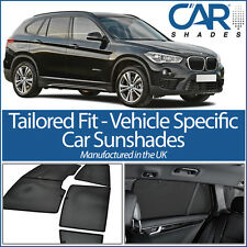 BMW X1 5dr 2015 On F84 UV CAR SHADES WINDOW SUN BLINDS PRIVACY GLASS TINT BLACK