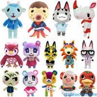"""Animal Crossing Tom Nook Chrissy Bunnie Flora Tasha 9.5"""" Plush Toy Stuffed Doll"""