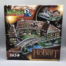 Wrebbit 3D Puzzle The Hobbit An Unexpected Journey Hobbiton 363 Pieces