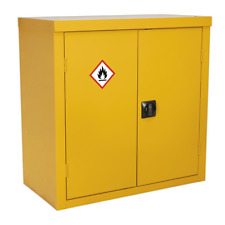 More details for fsc05 sealey flammables storage cabinet 900 x 460 x 900mm [cabinets]