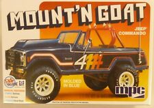MPC 1/25 Scale Mountain Goat Jeep Commando Model Kit 887