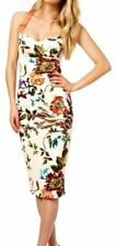 New TED BAKER AMABEL Floral Print Bodycon Dress Size 4, UK14, US10