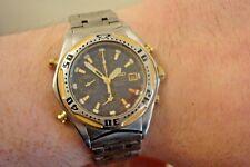Seiko 7t32-6L90. Rare divers chronograph. Gents. Alarm, dual time. July 1999