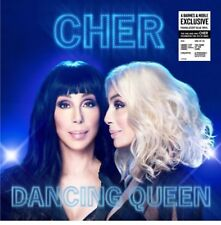 Cher - Dancing Queen Record LP Translucent Blue Vinyl  Exclusive