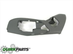 05-07 Jeep Grand Cherokee 06-07 Commander DRIVERS SEAT ADJUSTER TRIM PANEL MOPAR