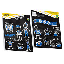 Licensed NRL Canterbury Bulldogs FAMILY Car Sticker Sheet 14 image Birthday Gift