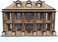 Laser cut wooden mansion house 3d model puzzle Kit dolls house kit diy project