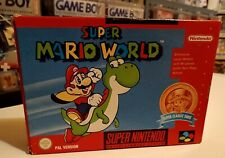 Super Mario World Super Nintendo Snes OVP CIB Top Zustand Classic Serie