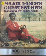 MAJOR LANCE: Greatest Hits~Live At The Torch LP (UK) Soul COLP 1001 EX / VG+
