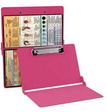 Clipboard Nursing Edition Folding Aluminum Student Nurse NEW Pink