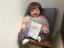 PETRA LECHNER vinile bambola Vanessa 53 CM. OTTIMO stato