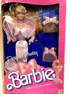 Perfume Pretty Barbie Doll Vintage 1987 Mattel - NRFB New In Original Box 🌸