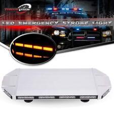 """27"""" 56LED Traffic Adviser Warn Emergency Beacon Signal Strobe Light Bar Amber"""