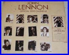 Tanti POSTER Muro JOHN LENNON BEATLES Ufficiale Calendario 2010 WALL PHOTOS NEW