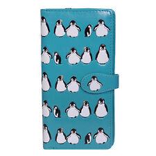 Penguin Pattern - Large Zipper Wallet  - Shagwear - New