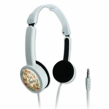 Give Thanks Thankfulness Thank You Travel Portable On-Ear Foldable Headphones