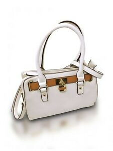 Mini Lady Lockbox Satchel Luxury Hand-Bag Cross-Body Bag Shoulder Bag with Strap
