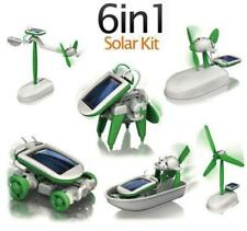 6 in 1 Solar Toy kit DIY Educational  (2 sets) New Free shipping