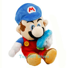 "Mario With ICE Flower 6.5"" New Super Mario Plush Doll Stuffed Toy"