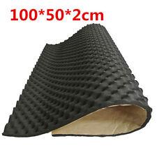 100x50cm Car Sound Proof Mat Floor Noise Insulation Foam Dampen Deadener 20mm