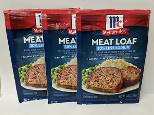 McCormick Meatloaf Seasoning Mix (3 Meat Loaf Packets) 30% less sodium