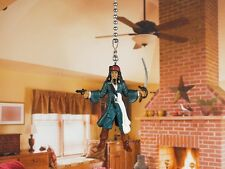 PIRATES OF THE CARIBBEAN JACK SPARROW Ceiling Fan Pull Light Lamp Chain A145