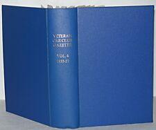 Veteran Car Club Gazette Volume 4 1955-57, 12 Booklets in Hardback Binding,