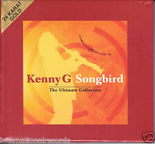 """Kenny G - Songbird The Ultimate Collection"" Limited Numbered Japan 24k Gold CD"