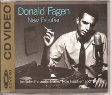 DONALD FAGEN New Frontier GOLD CD VIDEO STEELY DAN