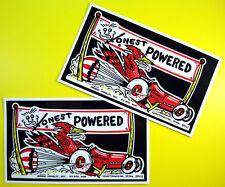 Honnête Charley nostalgique glissez course autocollants stickers
