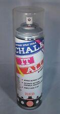 Chalk It All Temporary Spray Chalk - Red 7oz