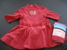 NWT Gymboree Sugar and Spice Red Dress Stripe Tight 3-6