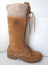Tamaris Schnürstiefel Boots L-XL cognac Gr. 40 corn Schnür Stiefel lacing brown