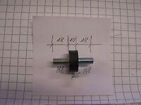 Tampon Amortisseur de vibrations en caoutchouc d=25 / M8 L = 18/10/18