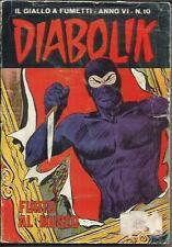 DIABOLIK anno VI n° 10 (Astorina, 1967)